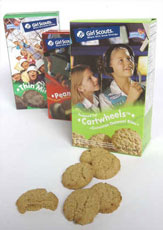 shrinking girl scout cookies