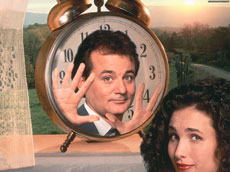 groundhog day... trapped in time