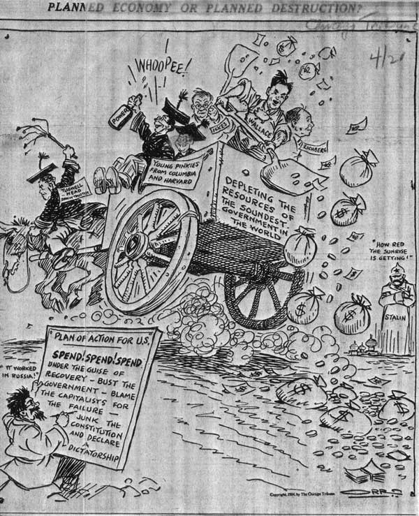1934: planned economy or planned destruction?