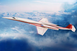 supersonic business jet