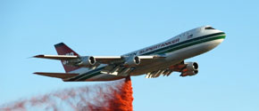 supertanker - a firefighting 747