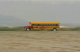 jet-powered 367mph school bus