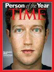 Mark Zuckerberg is Time's 2010 Person of the Year