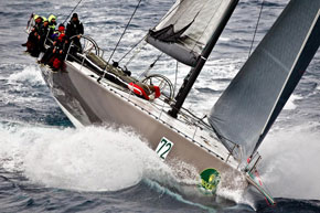 Niklas Zennstrom's RAN in the Sydney Hobart race