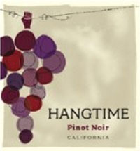 hangtime Pinot Noir - perfect for hanging out with friends :)