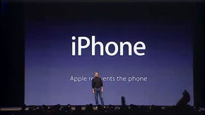 Jobsnote of note: the iPhone announcement