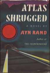 Atlas Shrugged, the original cover