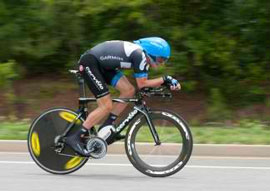 Dave Zabriske wins 2011 USA cycling time trial championship