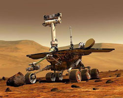 Spirit: the Mars rover