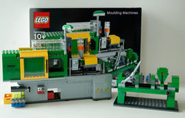Lego-making machine made of Lego