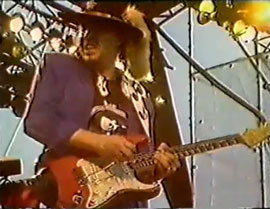Stevie Ray Vaughan in Denmark, 1988