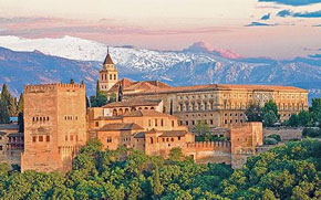 the magnificant Alhambra in Grenada, Spain