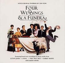 Four Weddings and a Funeral - more to see and appreciate every time.