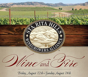 Santa Rita Hills Winegrowers Alliance: Wine and Fire