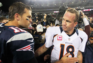 Brady vs Manning aka Denver Bronco vs New England Patriots