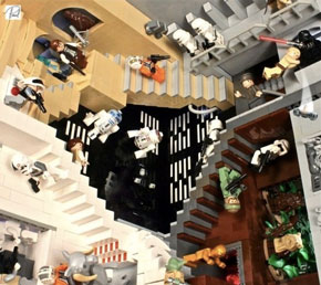 LEGO: Star Wars vs MC Escher