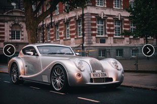 the Morgan Aero-Coupe