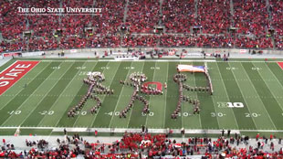 OSU marching band's Gettysburg tribute
