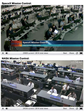 SpaceX vs Nasa
