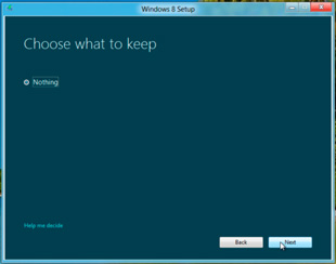 Windows 8 setup: what to keep