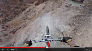 crazy mountain biking, too