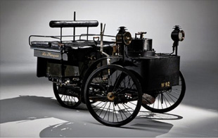 steam powered car