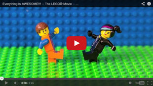 from the Lego movie: Everything is Awesome