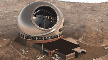 Hawaii's TMT (thirty meter telescope)