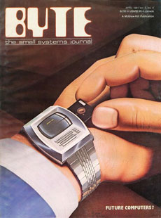 Byte April 1981: Wearable Computers