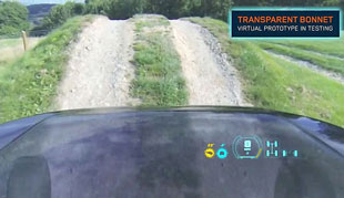 Land Rover's virtual transparent hood