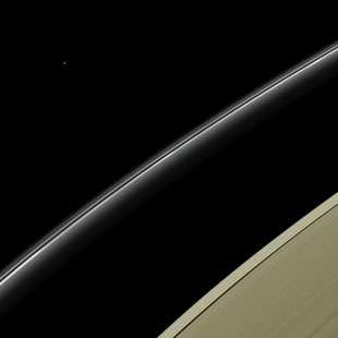 Uranus, seen from Saturn