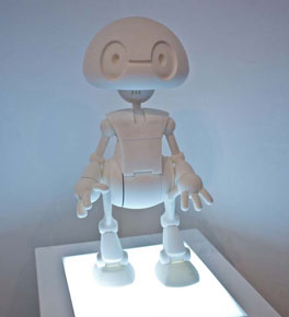Jimmy the robot (Intel's 3D-printed kits)