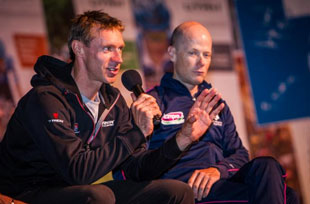 Jens Voight and Chris Horner