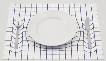 [apparently] sinking tableware