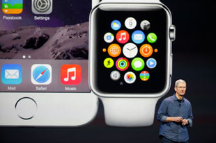Tim Cook announces the iWatch