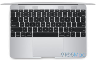 "the rumored ""iPad-book"", a 12"" MacBook Air with no ports"
