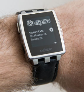 Pebble supports Android Wear
