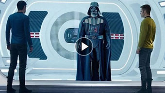 the trailer: Star Wars vs Star Trek