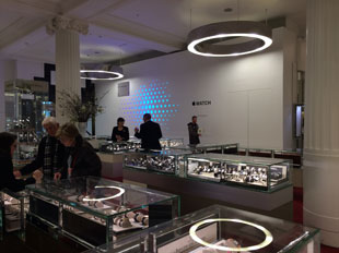 Apple Watch boutique at Selfridge's in London