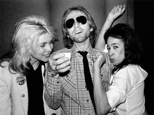 Deborah Harry, Tom Petty, and Ronnie Spector