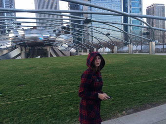 "Meg, Millenium Park ... ""really Dad""?"
