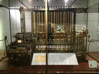 Charles Babbage's Difference Engine II