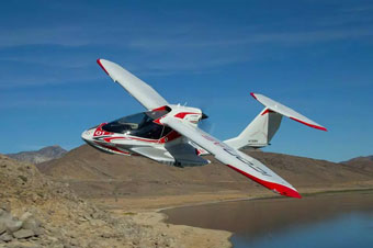 ICON A5 amphibious sport aircraft