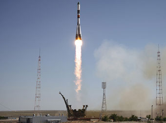 Soyuz launch - at present, the only way to send people into space