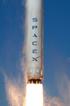 SpaceX Falcon rocket