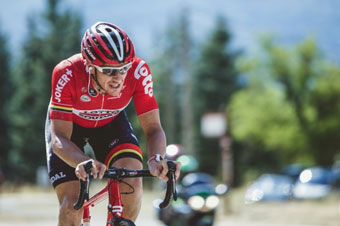Adam Hanson rides 13 grand tours in a row