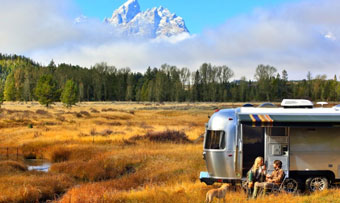 Airstream National Park Centennial edition