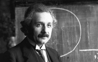 Albert Einstein, father of cosmology