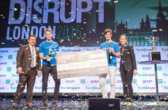 Jukedeck, winner of TechCrunch Disrupt London 2015