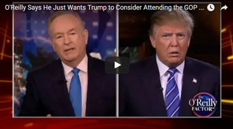 Trump vs O'Reilly, Fox, Kelly